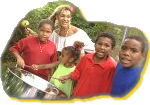 jc lodge with sing n learn kids and steeldrum